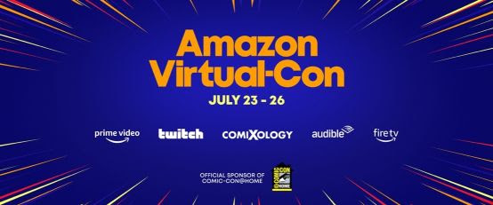 San Diego Comic-Com 2020 | Amazon confirma presença no evento virtual