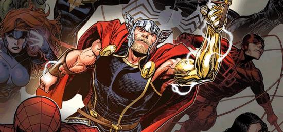 Thor   Marvel apresenta novo ilustrador das HQ's do herói
