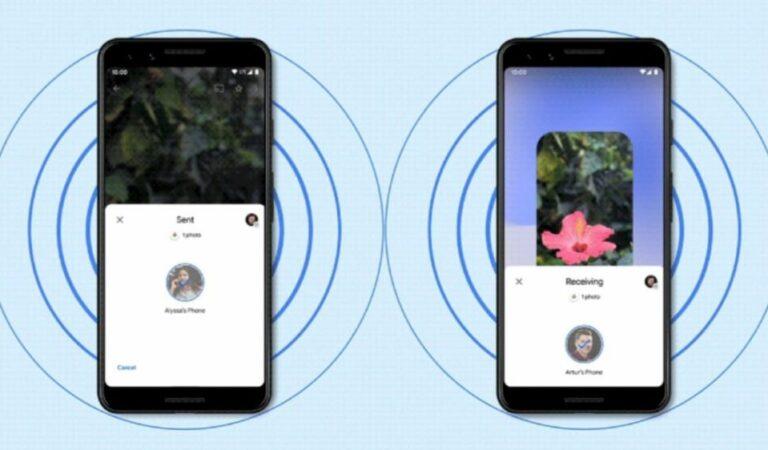 Android começa a receber Nearby Share para compartilhar arquivos sem fio